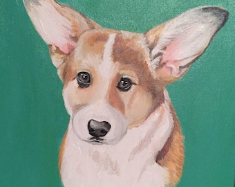 Custom Dog Portrait (Acrylic)