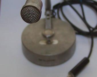 Vintage Teledyne gooseneck desk microphone