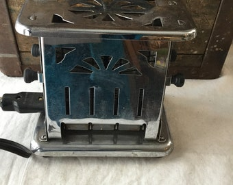 Vintage Landers Electric Toaster / 1930's / Model 75312A / Working Condition