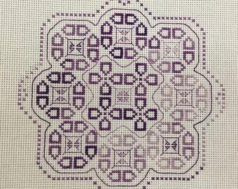 PDF Perilous Path Back Stitch Pattern, Instant Download Cross Stitch Pattern, Cross Stitch/Back Stitch Chart, Choose Your Colors