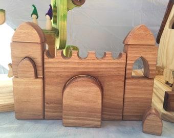 Wooden Castle block set