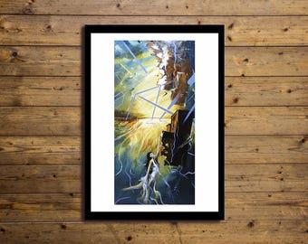 Poster Artistico 50x70cm Concept 3