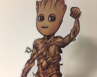 Baby Groot Standup Cutout