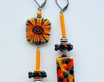 citrus burst earrings
