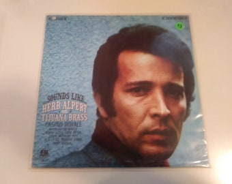 Sounds Like...Herb Alpert and The Tijuana Brass VG++ Original Stereo Press A&M SP-4124 Record 1967 - Play Tested Latin Pop jazz