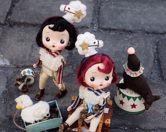 Fairytown nAureQ【Holala】doll {Pony Twins}Loty&Lola【preorder for one week】