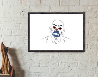 Joker Henchman Minimal Style