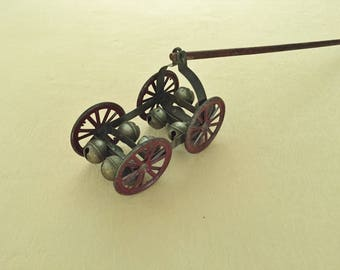Victorian 12 Bell Pull Toy, circa 1880