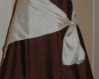 Skirt Gypsy nougat and chocolate colors.