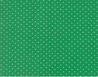 Sugar Plum Christmas Green 2918 18 - Moda Fabrics 100% Cotton Quilting Fabric Bunny Hill Designs