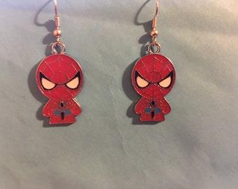 Spiderman Earrings   L68