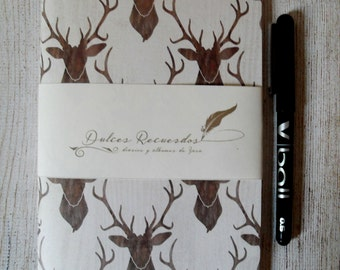 Reindeer travel notebook