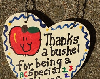 Science Teacher Gift Thanks a Bushel 6025 Special Science Teacher