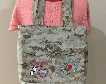 Marine wife bag
