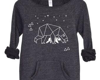 Mama Bear Sweatshirt, Mama Baby Bear Top, Ursa Major,  Mother's Day Gift, Mothers Day Gift, Polar Bear Sweater, Gift For Mom, Animal Sweater