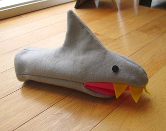 Sewing Pattern Shark Puppet or Mittens Sewing Pattern PDF