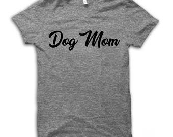 Dog Mom Shirt Dogs before dudes shirt funny shirt weekend shirt women's Gift Custom Tank Top