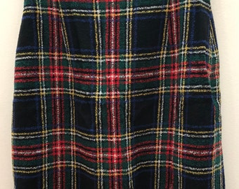 MOSCHINO COUTURE Pleated skirt  - SIZE 8 - Plaid