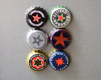 Stars Caps Magnets