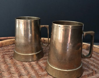 Brass Mugs // Boho Drinkware