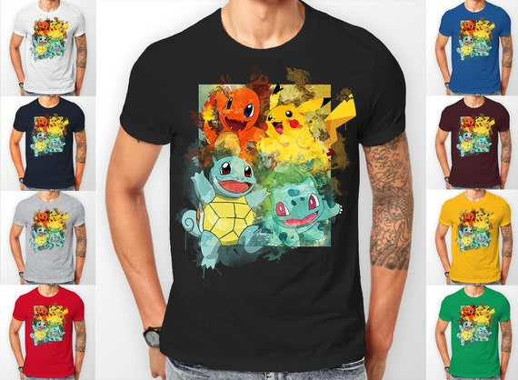 Pokemon starter's catch 'em all Tee shirt T-Shirt