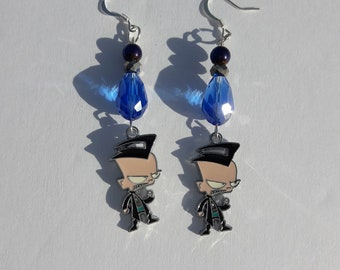 Invader Zim: Dib Dangle Earrings