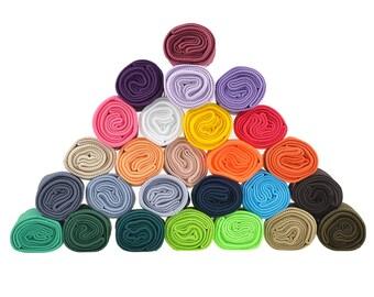 Knit Cuff Set 3 pieces, waist + cuffs, elastic, free color choice (colour: green)