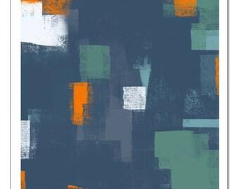 Modern Graphic Design 1/2-Pop Art Print