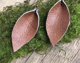 Leather Ash Leaf - Rich Brown