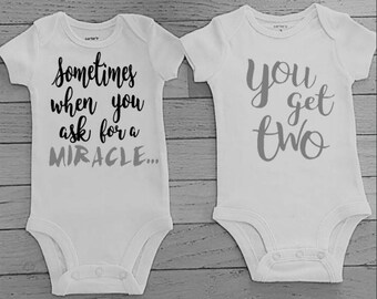 twins baby gifts - twins - boy and girl twins - twin boys - twins in clothing  - twins baby shower - matching twins outfits -