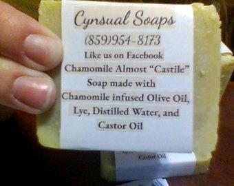 Chamomile Almost Castile Soap