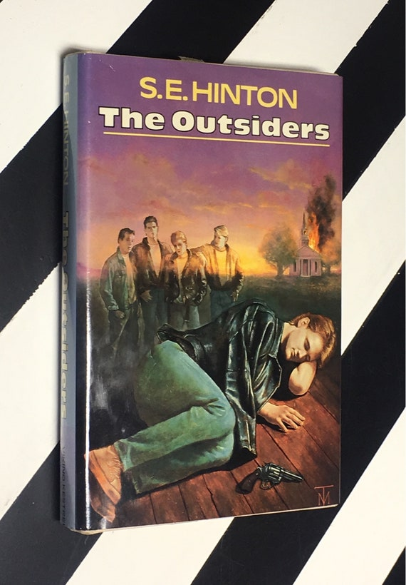 The Outsiders by S. E. Hinton (1988) hardcover book