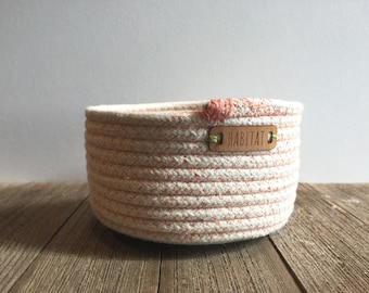 Handmade coiled Basket for trinkets