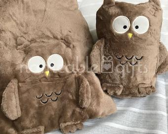 Owl baby blanket etsy baby blanket personalized baby blanket minky blanket owl blanket owl baby gift negle Choice Image