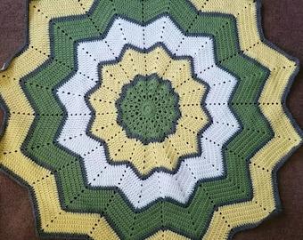 12 Point Star Baby Blanket