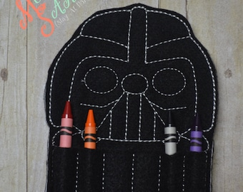 Dark One Crayon Holder
