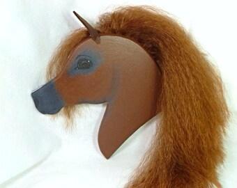 Arabian Stick Horse Sorrel