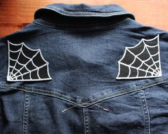 Spider Web Shoulder Duo Patch Set