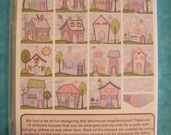 Anita Goodesign - Neighborhood Quilt - Mix n Match Quilting - Machine embroidery - New