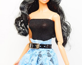clothes for Fashion Royalty dolls (skirt+leather belt): Alexia