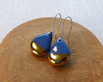 Shizuku Raindrop Hook Earrings SALE