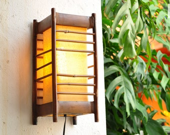 FREE SHIPPING!!! Oriental Mood Bamboo Lamp,  Bamboo Lamp, OrientalBazar Boho Decor, Bohemian Simple Life, Asian Style, Japanese Decor