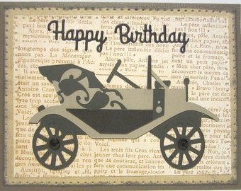 Car guy card etsy classic car birthday card homemade birthday card handmade cards masculine cards guy bookmarktalkfo Image collections
