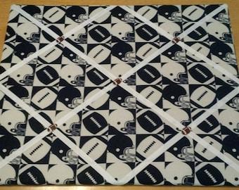 Football Sports Memo Board, 16 x 20