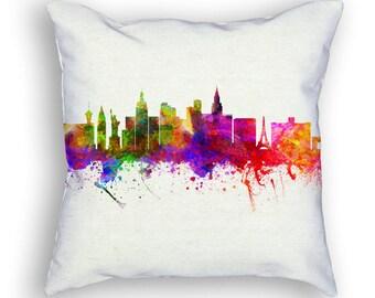 Las Vegas Nevada Throw Pillow, 18x18, Cushion Home Decor, Gift Idea, Pillow Case 02