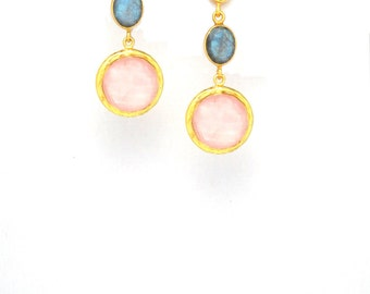 Trio Drop Earring