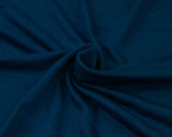 Teal Dark B Light-weight Rayon Spandex Jersey Knit Fabric - 160 GSM by the Yard - Style 13390