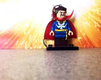 Dr Strange Lego Inspired Keyring