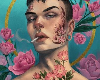 Pink Peonies - Fine Art Print