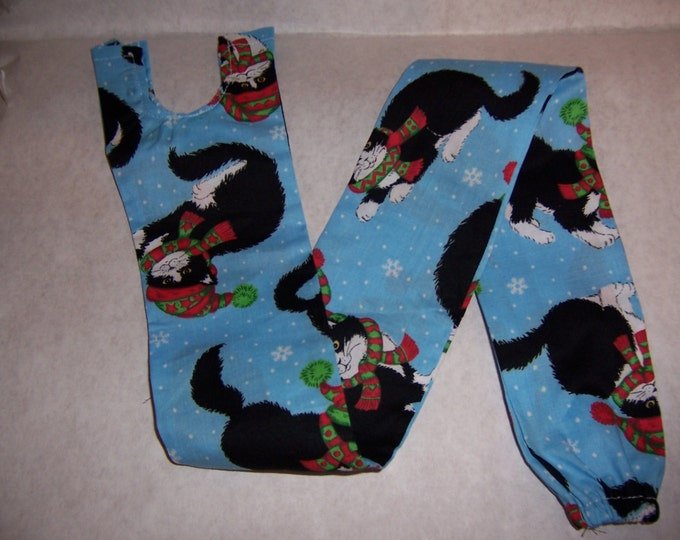 Cats in stocking caps, fabric sethoscope cover